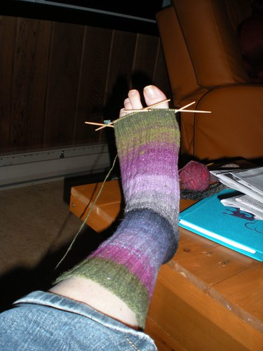 My sock in progress