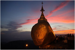 Burma Myanmar Travel Photography Birma Reisfotografie Golden Rock Pagoda Kyaiktiyo.400 by Hans Hendriksen (Hans Hendriksen Travel Photography) Tags: street travel sunset vacation people holiday rock landscape temple photography gold golden pagoda vakantie democracy leute buddha burma stupa military politics kultur religion culture monk streetlife buddhism reis holy monastery human monks rights sacred myanmar dailylife birma ferien regime klooster kloster leven landschap tempel cultuur democratie kyaiktiyo heilig mensen pagode sagrado monnik monasteries religie boeddha reisefotografie boeddhisme dagelijks reisebilder kloosters vakantiefoto reisfotografie reisfotos reisfoto burmalife burmaculture