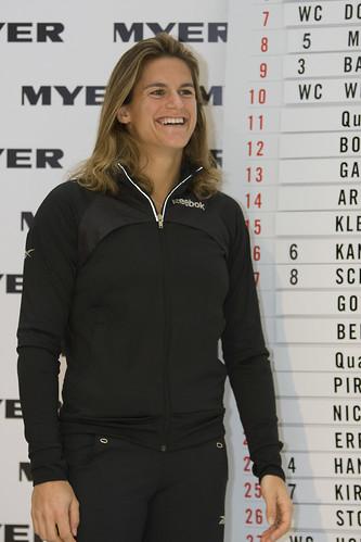 Tennis-Star(Amelie Mauresmo )