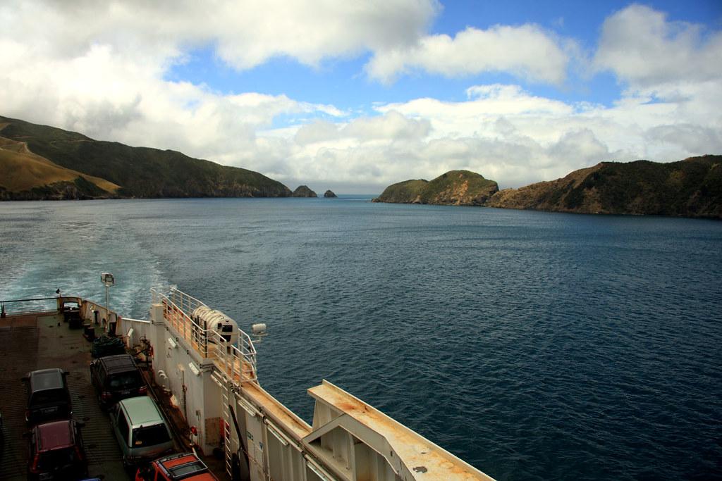 Marlborough Sounds i Tasman Bay