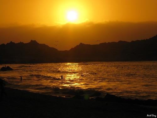 Atardecer en Punta de Tralca | Sunset in Punta de Tralca