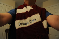 Pub Quiz Prize: My Very Own Double Cola Scarf!
