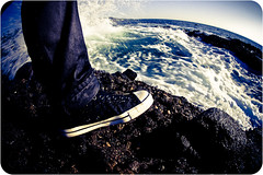 The adventures of my chucks~ (Tom Lin :3=) Tags: california canon eos fisheye converse 5d allstar chucks lagunabeach johnvarvatos tiltviewer 5dmarkii 5d2 canon5dmarkii sigmaaf15mmf28exdgdiagonalfisheye