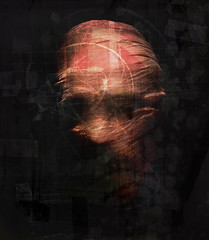 cloth (biancavanderwerf) Tags: red black dark death scary explore textures bianca cloth frontpage rood schim graphicmaster