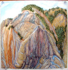 DSC00403 (kluehirschSnowpine) Tags: color nature landscape originalart paintings brush yellowstonenationalpark jeanhirschallrightsreserved