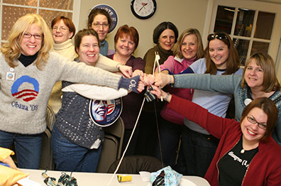 Knitters for Obama