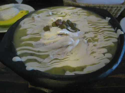 Traditional soup of Bogota