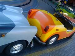 Besuch im Prater - Kinderautos