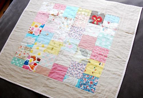 pram/basinette quilt