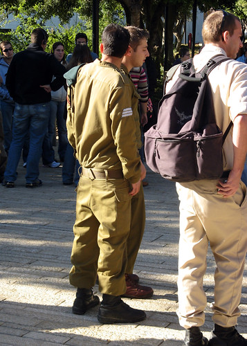 Young Israel Defense Force Soldiers