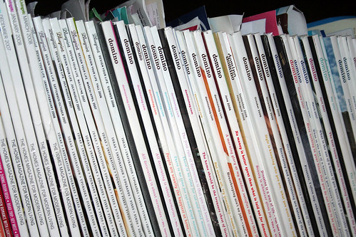 Domino and Blueprint Magazines