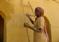 Nuba housepainting Delgo - Sudan (Znapshot.) Tags: africa travel people black guy bike catchycolors nikon perfect photographer desert serious african portait smoke awesome tribal smoking arabic cover arab blackpeople afrika nikkor tribe fabulous ethnic biketour nuba junge afrique arabisch tribu d300 wueste blackskin tribalportrait ethnique flickrsbest nicotin ethnie totalphoto nubier thecolor anawesomeshot ultimateshot arabik nikond300 delgo adventu michaelatischer wwwmarcobecherde znapshot nikoton marcobechher nubadesert