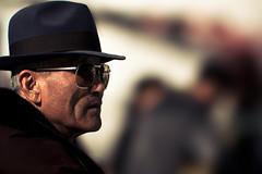 Watchful eye (DSLR_MANIA) Tags: street senior hat sunglasses eos oldman korea icerink seoul southkorea ef200mmf28liiusm canonef200mmf28liiusm eos1dmark3 canon1dmark3 dslrmania canon1deos1d