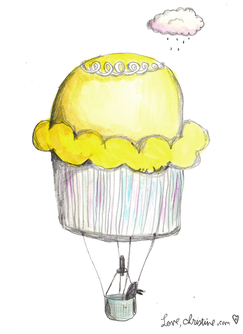 cupcakeballoon