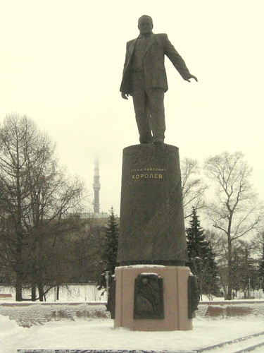 Statue of Korolev