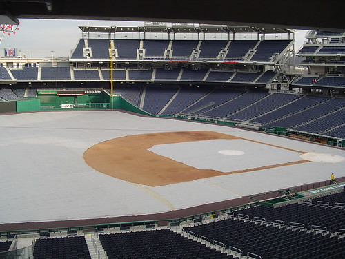 the ballpark in winter