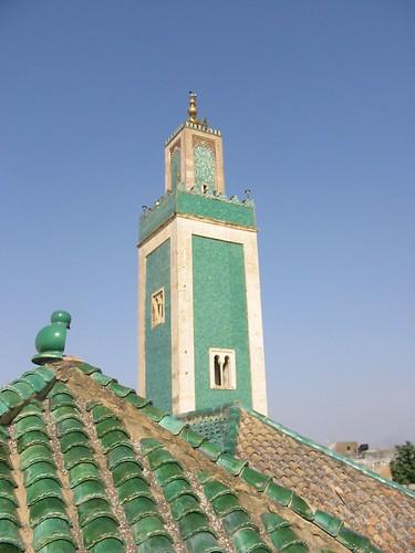 Mooi groen moskeetje