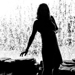 Touched Just Right (Thomas Hawk) Tags: blackandwhite bw woman beautiful beauty silhouette blackwhite pretty julia 10 spouse wife juliapeterson fav10 mrsth gettyartistpicksoct09