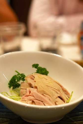 Chilled par-boiled chicken in chinese wine - DSC_3008