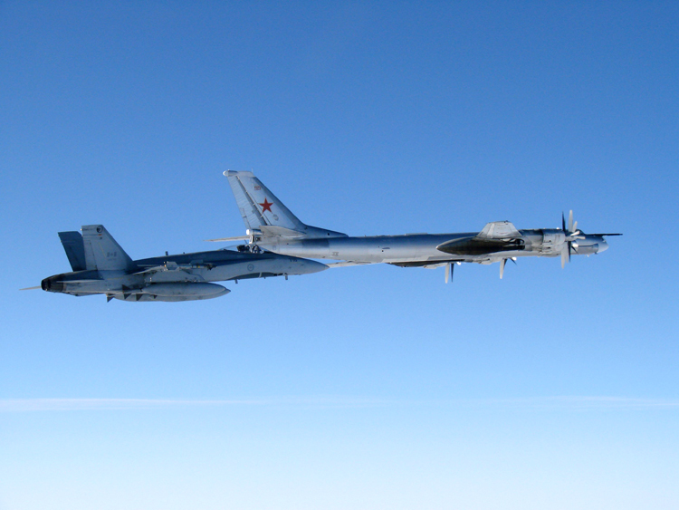 RCAF intercepts Bear 2007.09.05