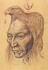 (tarudesign) Tags: art animal illustration pencil eagle native drawing spirit tribal shaman chaman mutation aigle sketcn