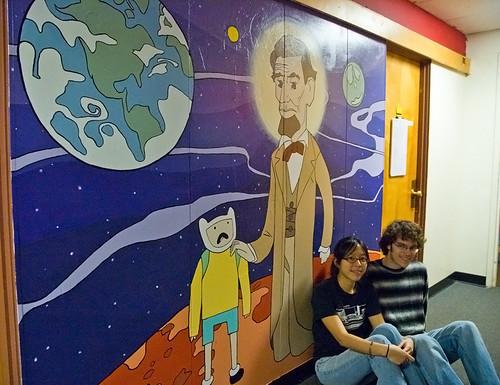 Fan Art Mural