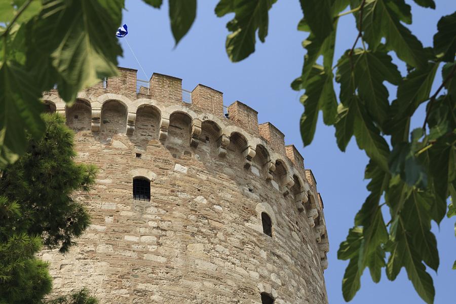 Thessaloniki / Saloniki  / Grecja 2009 / White Tower