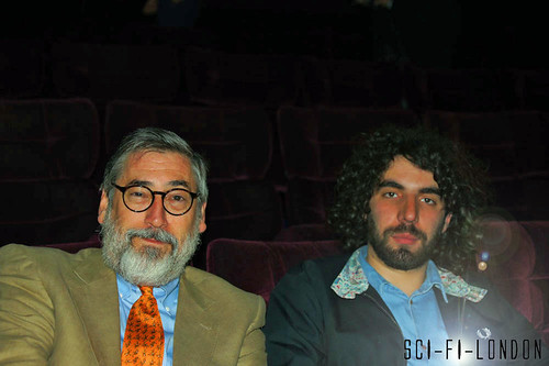 Sci-Fi London 9 : Opening Night Splice screening John Landis and Director Romain Gavras (son of Costa Gavras) in for the Arthur C Clarke Award and to watch Splice by Craig Grobler