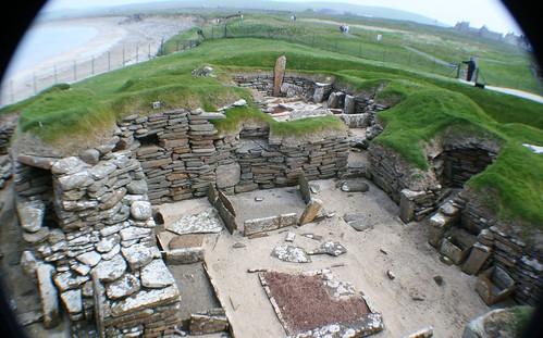Skara Brae Prehistoric Site, Orkney