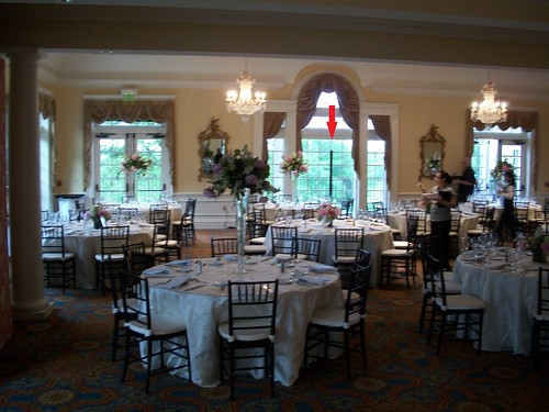 Wedding at Belle Haven Country Club , Washington DC DJ Chris Laich Music Services, Alexandria VA wedding venue