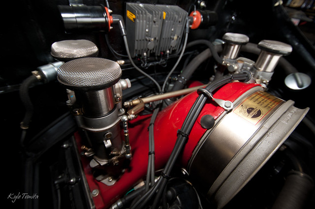Engine in a 1958 Porsche Special at PSI.JPG