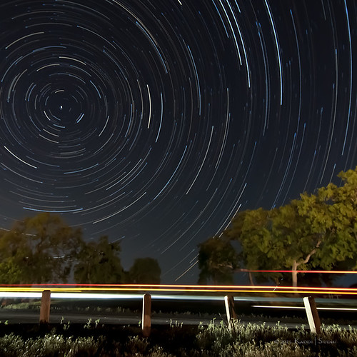 Star Trails at Glory Hole Camp
