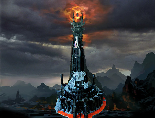 LEGO Lord of the Rings Barad-dur tower