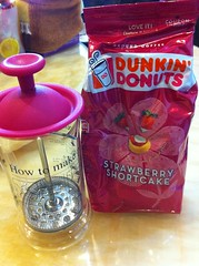 Dunkin' Donuts Strawberry Coffee