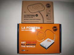 La Fonera+ and La Fontenna box