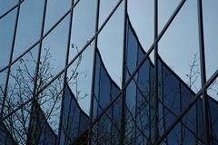 Technology glass reflection