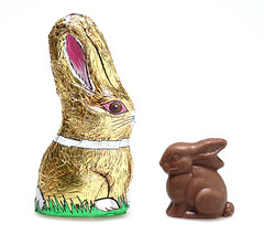 Lake Champlain & See's Milk Chocolate Rabbits