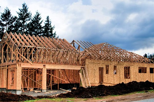 House Made Of Sticks - new home construction in Stayton Oregon