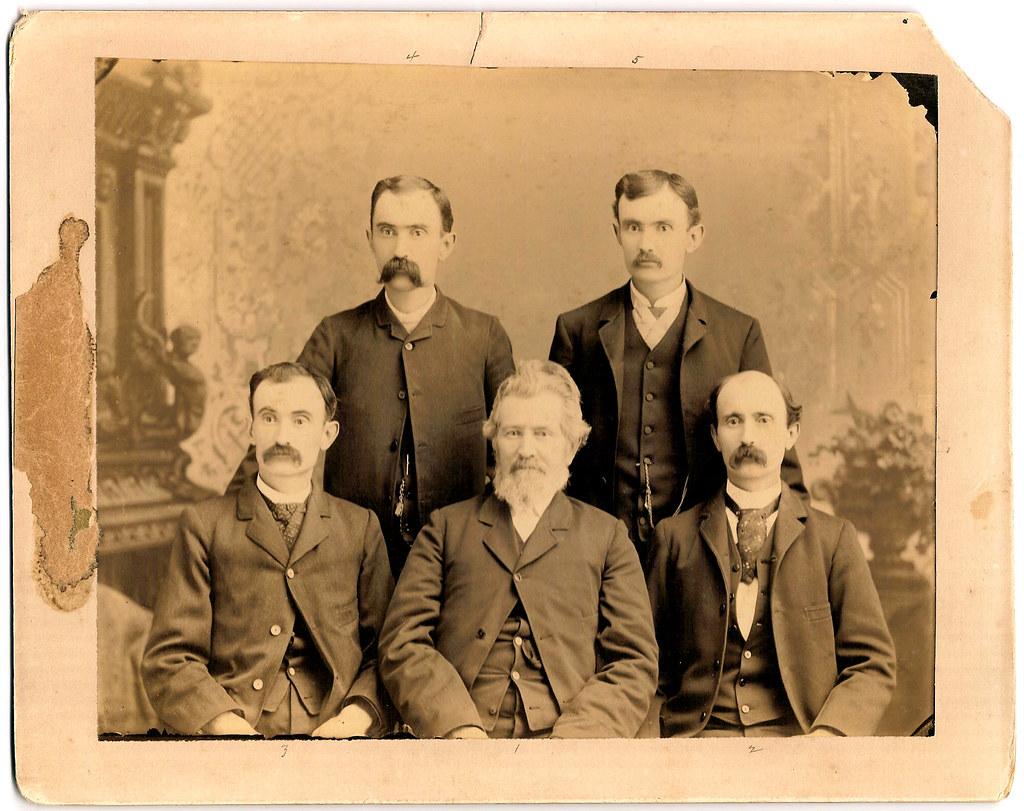 Branin Family Portrait 1880