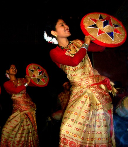 Bihu Dance Of Assam (India) | Flickr - Photo Sharing!