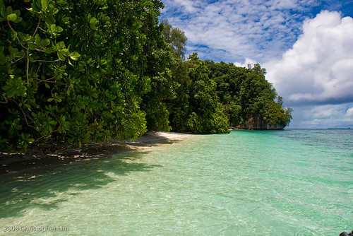 Ulong Beach, Ulong Island, Republic of Palau - It's where they filmed Survivor: Palau!