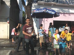 Smile in Songkran Festivals