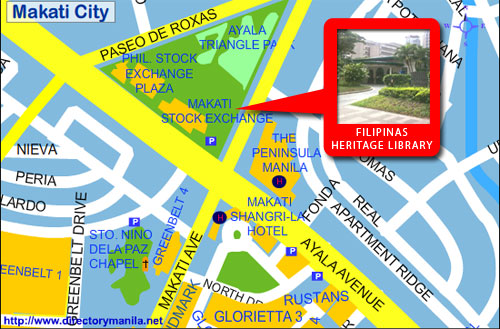 Filipinas Heritage Library Site Map