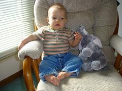 Ethan 9 months