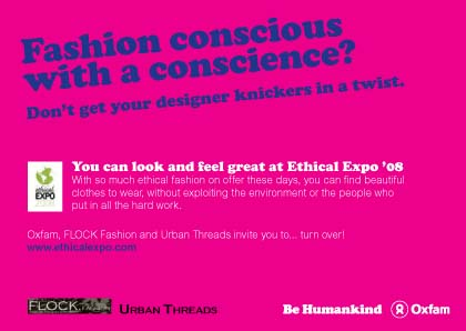 Ethical Expo fashion show