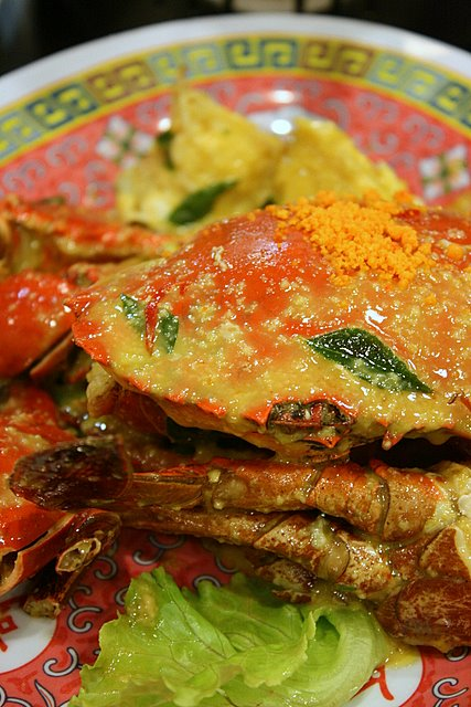 Signature salted egg crab