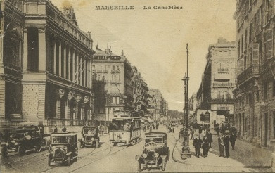 postcard of Marseille
