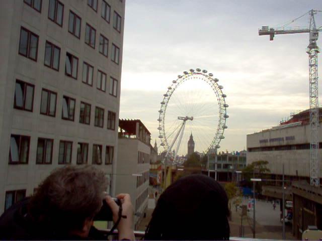 Europe 2005 London Eye and Big Ben