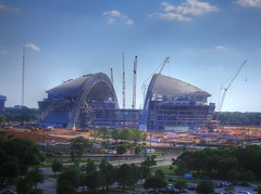 Cowboys' Stadium HDR (JoWiJo) Tags: construction stadium hdr