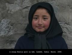 Leh Muslim (owilybug) Tags: travel people india child hijab himalaya leh ladakh